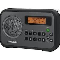 Sangean Pr-D18bk Fm-Stereo / Am Digital Tuning Portable Receiver