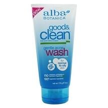 Alba Botanica Good & Clean Gntle Acne Wash 6-ounce