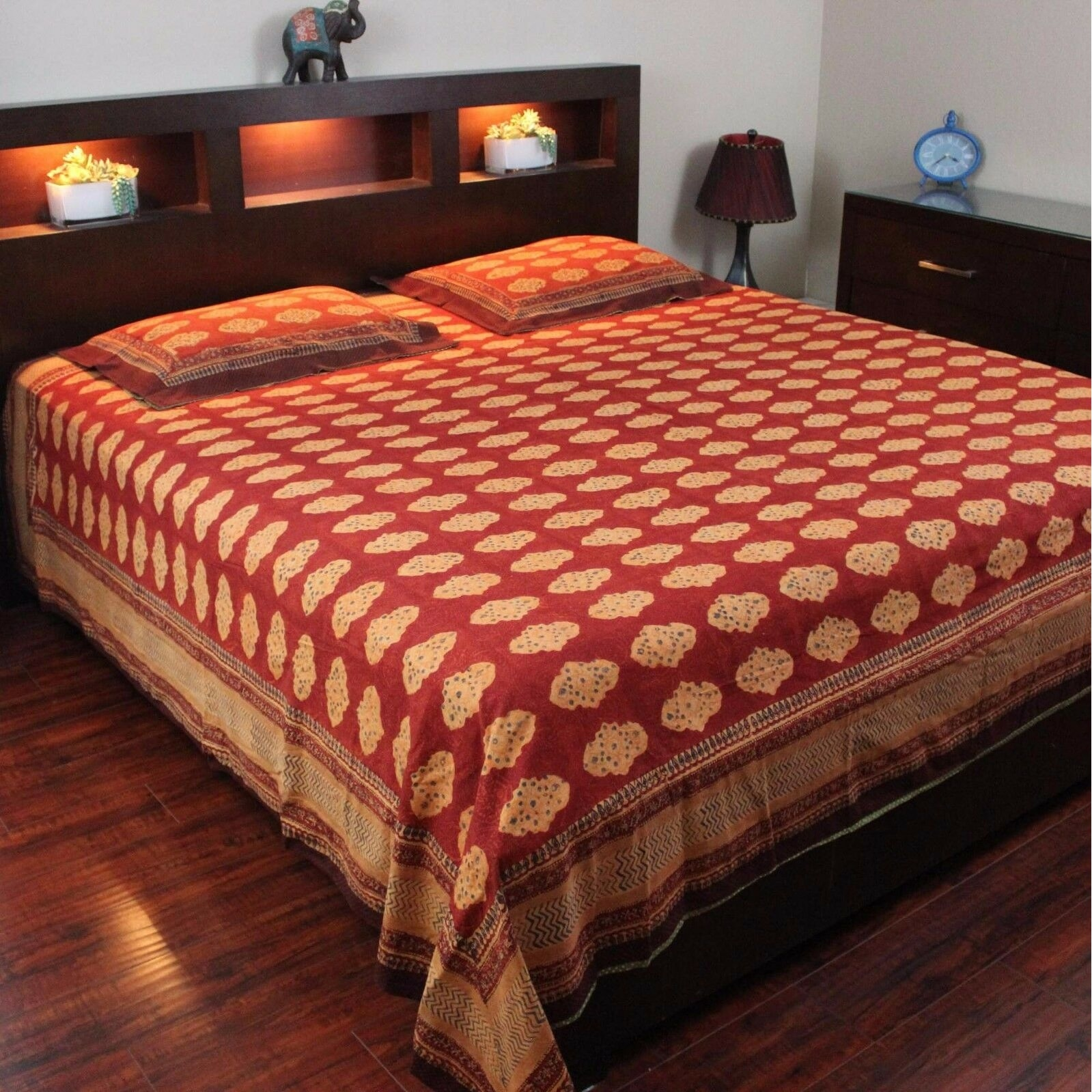 Picture of: Block Print Tablecloth Rectangle Bedspread Cotton Queen Size Bed Sheets Twin Full Size Dorm Decor Bach Blanket Or Sheet Overstock 13304511