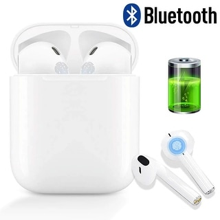 Link to Wireless Bluetooth 5.0 Earbuds Headphone - Stereo Sync - Completely Wireless - Charging Box - for iOS & Android Devices Similar Items in Cell Phone Accessories