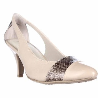 Rialto Madalie Cutout Dress Heels - Taupe