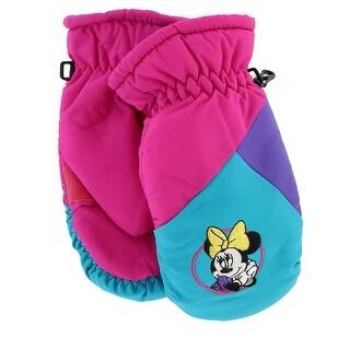 Disney Girl's 4-7 Minnie Mouse Ski Mitten