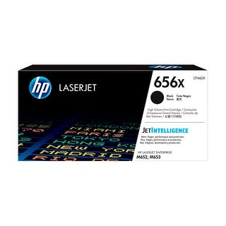 HP 656X Original LaserJet Toner Cartridge - Black (Single Pack) Toner Cartridge
