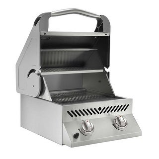 Napoleon BISZ300PFT Built-In Flat Top SIZZLE ZONE Propane Grill Head - Stainless Steel