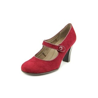 Aerosoles Role Through Round Toe Synthetic Mary Janes