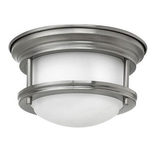 Hinkley Lighting 3308-QF 1 Light LED Convertible Recessed Trim with Frosted Glass Shade from the Hadley Collection