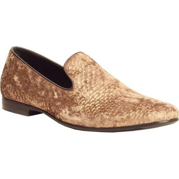 85ee64f8b0823 Shop Giorgio Brutini Men's Court Smoking Loafer Gold Velvet - On Sale -  Free Shipping Today - Overstock - 26441152