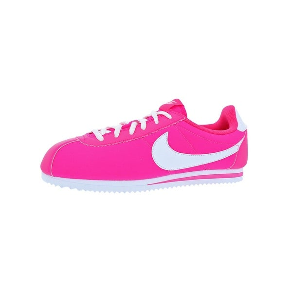 3fcb192d6b01 Shop Nike Girls Cortez Nylon Trainers Big Kid Running - hyper pink ...