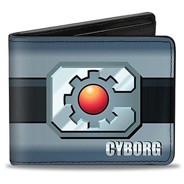 Buckle-Down Bifold Wallet Cyborg