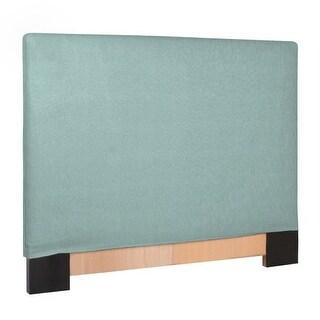 Howard Elliott Sterling Breeze Slipcovered Headboard Breeze 100% Polyester Upholstery Headboard