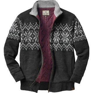 Legendary Whitetails Mens First Frost Quilted Sweater