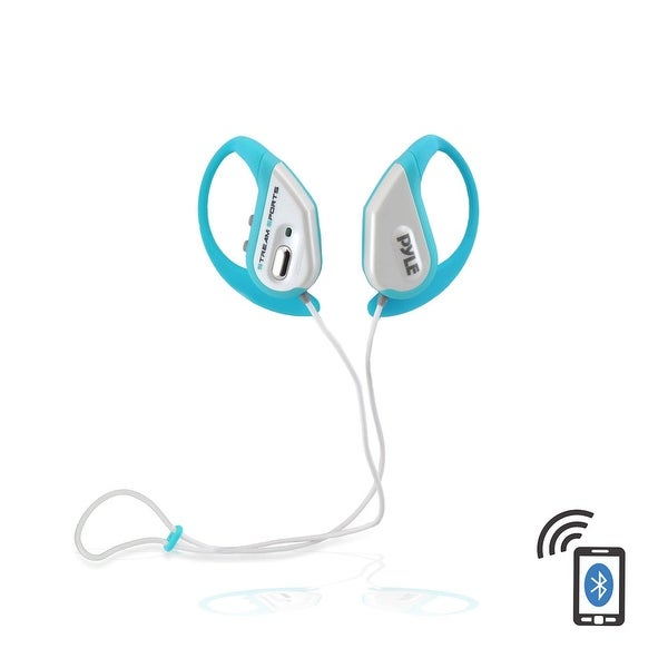 Pyle bluetooth water resistant headphones (Blue)