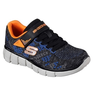 Skechers 97379L CCBK Boy's EQUALIZER 2.0 - POINT KEEPER Sneaker