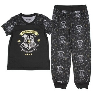 Intimo Big Girls' Harry Potter Hogwarts Girls Pajama Set
