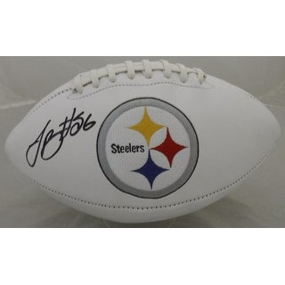 Leveon Bell Autographed Pittsburgh Steelers White Panel Football JSA