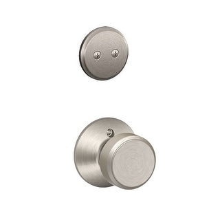 Schlage F94-BWE  Bowery One-Sided Dummy Interior Pack - Exterior Handleset Sold Separately