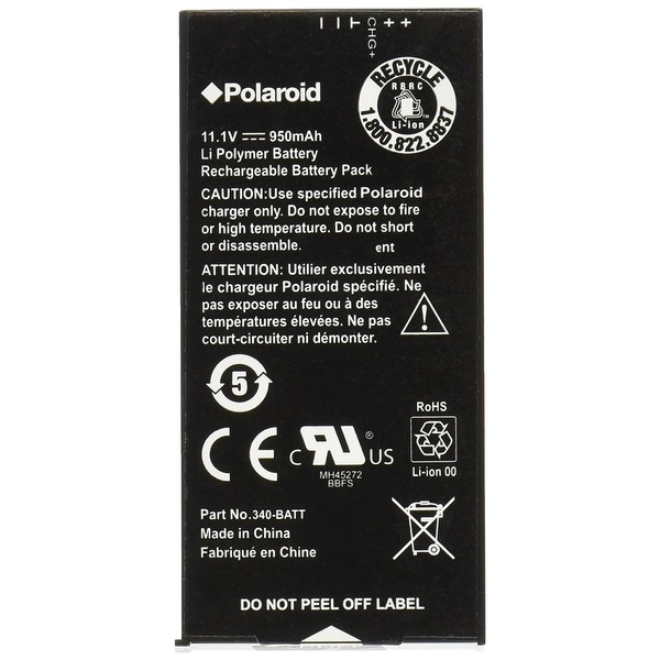Polaroid High Capacity Replacement Battery For The Polaroid Z340 & GL10 Printer