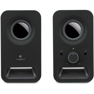 Logitech 980-000802 Multimedia Speakers Z150 Midnight Black