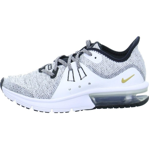 a4b303179f Shop Nike Kid's Air Max Sequent 3 Gs, Black/Black-White, Youth Size ...