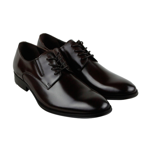 Kenneth Cole Reaction Get Even Mens Brown Casual Dress Oxfords Shoes