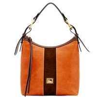 Dooney & Bourke Florentine Suede Maya Hobo Shoulder Bag (Introduced by Dooney & Bourke at $368 in Oct 2017)
