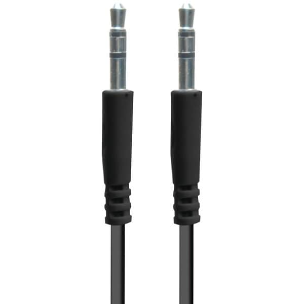 Iessentials Ie-Aux-Bk 3.5Mm Auxiliary Cable, 3.3Ft