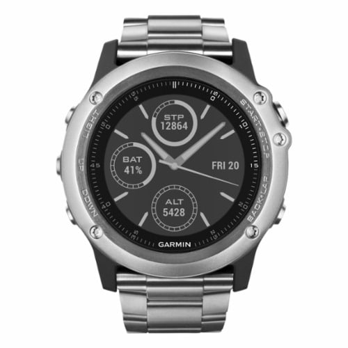 Garmin Fenix3 Sapphire Titanium Multisport GPS Watch