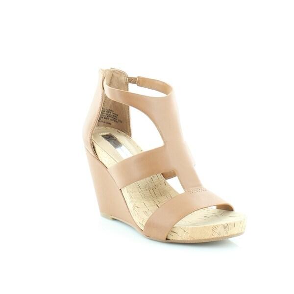 INC International Concepts Lilbeth Women's Sandals & Flip Flops Golden Cognac - 6