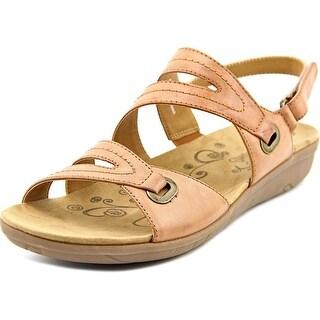 Baretraps Jevin Women Open-Toe Synthetic Brown Slingback Sandal