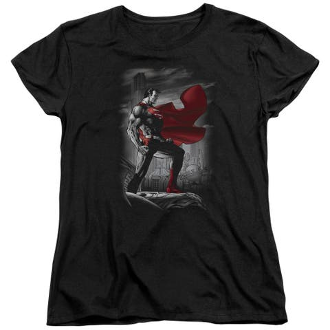 Superman Metropolis Guardian Womens Short Sleeve Shirt