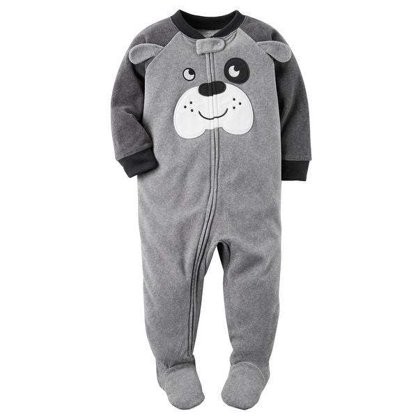22e58cc25581 Shop Carter s Baby Boys  1 Piece Dog Fleece Pajamas