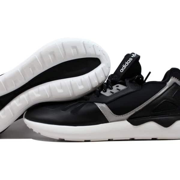 pronunciación Estimar explosión  Shop Adidas Tubular Runner Black/Black-White B25525 Men's - Overstock -  31824944