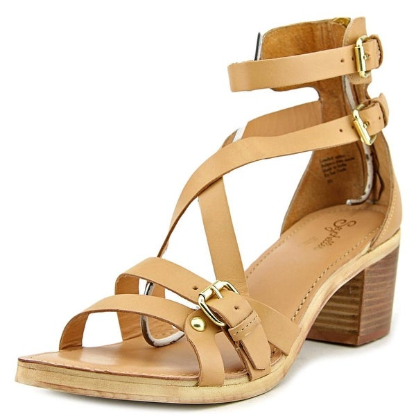 Seychelles Aquarius II Women Open Toe Leather Tan Sandals