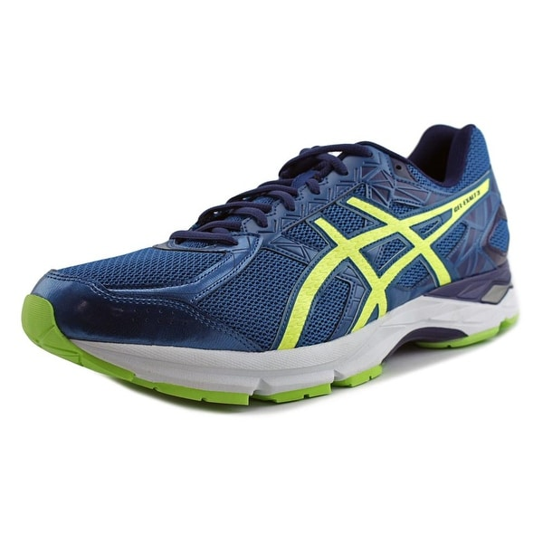 Asics Gel-Exalt 3 Men Thunder Blue/Safety Yellow/Indigo Blue Running Shoes