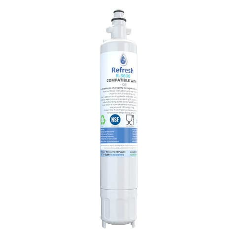 Replacement Water Filter for GE PFE28RSHSS Refrigerator Models - White