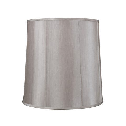"Aspen Creative Empire Shape Spider Construction Lamp Shade in Silver Grey (16"" x 18"" x 18"")"
