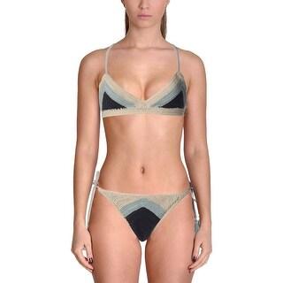 Suboo Womens Halter Balconet Bikini Swimsuit - M