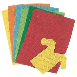 "Pacon - Burlap Sheet - 9"" x 12"" Assorted Colors"