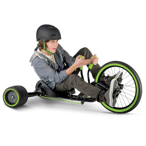 Green Little Monster 20-Inch 3-Wheel Tricycle in Green and Black - Green/Black