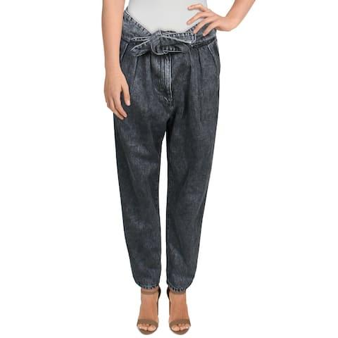 IRO Womens Jeans Denim Marled - Dark Grey