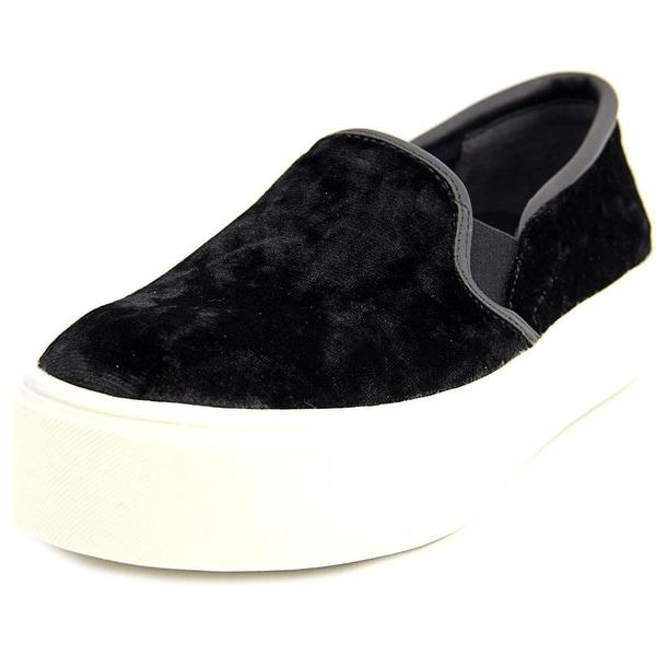 Bar III Womens Hugo Fabric Low Top Slip On Fashion Sneakers