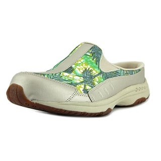 Easy Spirit Traveltime Women W Round Toe Suede Multi Color Mules