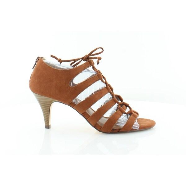 Style & Co. Hannde Gilly Tie Women's Sandals & Flip Flops Chestnut - 9