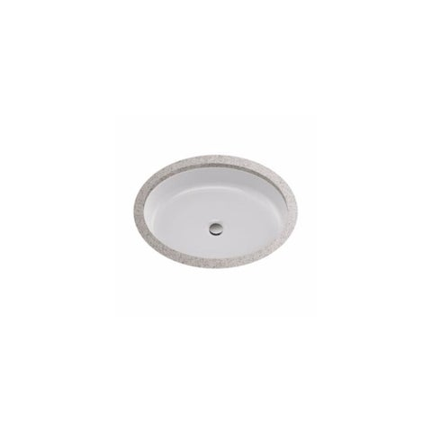 "Toto LT233 Atherton? 18-3/8"" Vitreous China Undermount Bathroom Sink with Concealed Overflow - cotton"
