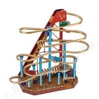 Mr. Christmas Animated World's Fair Grand Roller Coaster Decoration #79751 - multi