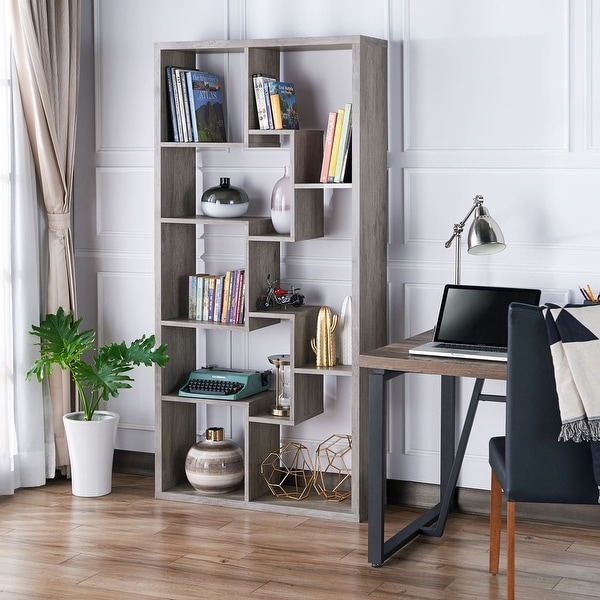 Gabriel Modern Bookcase Display Cabinet