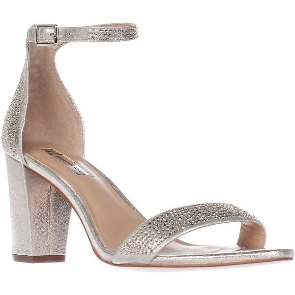 I35 Kivah2 Ankle Strap Sandals, Pearl Gold