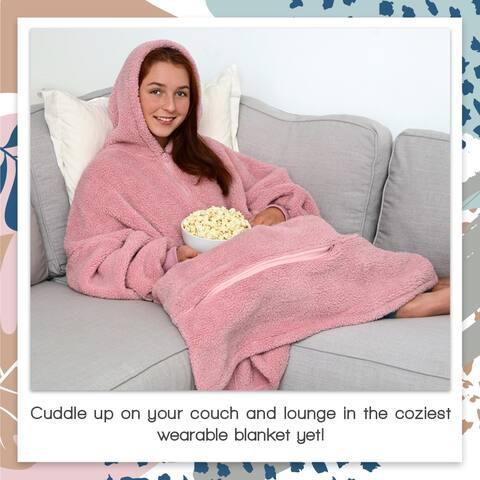 Tenby Unisex Wearable Blanket Oversized Bodysuit, One Size