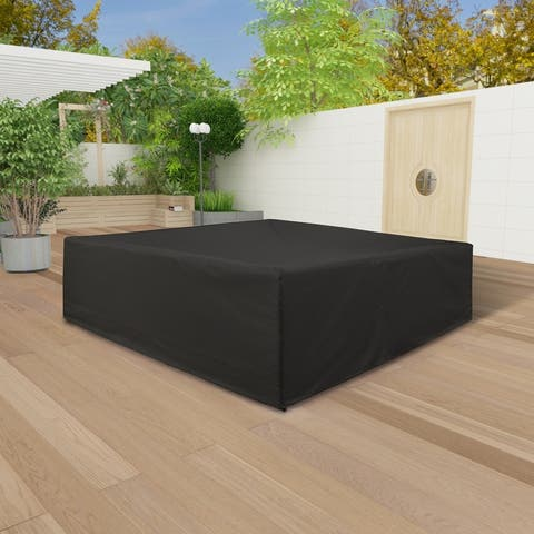 Ascot Heavy Duty Large Outdoor Water Resistant Patio Set Cover