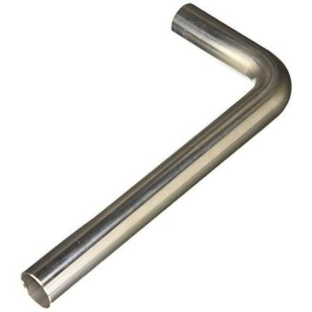 Vibrant (13032) 90° T304 Stainless Steel Mandrel Bend Tube